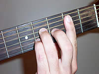 Guitar Chord Bmaj7 Voicing 1