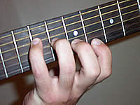 Guitar Chord Bmaj7 Voicing 2