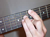 Guitar Chord Bmaj7 Voicing 3