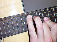 Guitar Chord Bmaj7 Voicing 5
