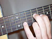 Guitar Chord Bmaj9 Voicing 4