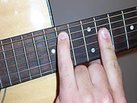 Guitar Chord Bmaj9 Voicing 5