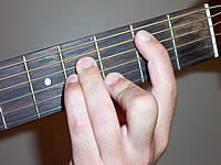 Guitar Chord Bmb6 Voicing 2