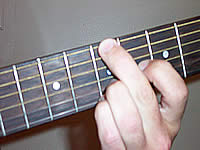 Guitar Chord Bsus2 Voicing 2
