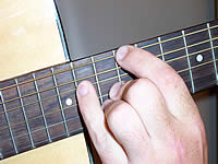 Guitar Chord C+ Voicing 5