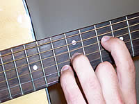 Guitar Chord C5 Voicing 5