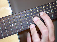 Guitar Chord C7b5 Voicing 5