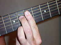 Guitar Chord C9b5 Voicing 3