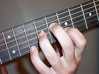 Guitar Chord C9b5 Voicing 4
