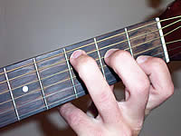 Guitar Chord C Voicing 1