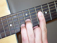 Guitar Chord Cadd9 Voicing 5