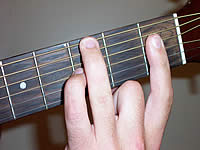 Guitar Chord Cm7 Voicing 1