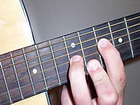 Guitar Chord Cm7 Voicing 5