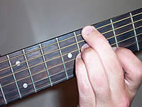 Guitar Chord Cm7b5 Voicing 4