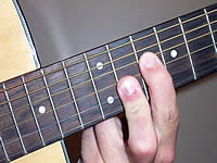 Guitar Chord Cm7b5 Voicing 5