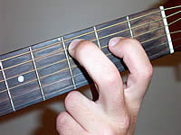 Guitar Chord Cmaj7 Voicing 1