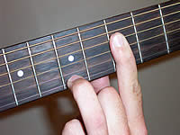 Guitar Chord Cmaj7 Voicing 3