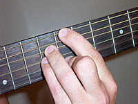 Guitar Chord Cmaj7 Voicing 4