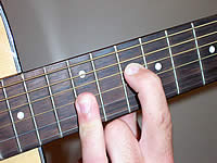 Guitar Chord Cmaj7 Voicing 5