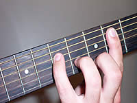 Guitar Chord C#+7 Voicing 3