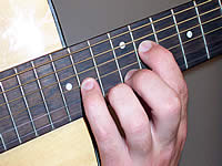 Guitar Chord C#+7 Voicing 5