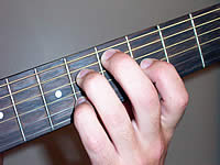 Guitar Chord C#7b9 Voicing 2