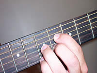 Guitar Chord C#7b9 Voicing 3