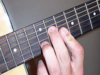 Guitar Chord C#7b9 Voicing 5