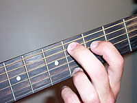 Guitar Chord C#7#11 Voicing 1