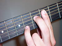 Guitar Chord C#7#11 Voicing 2