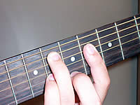 Guitar Chord C#7#11 Voicing 3
