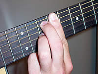 Guitar Chord C#7#11 Voicing 4
