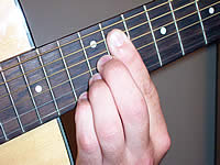 Guitar Chord C#7#11 Voicing 5