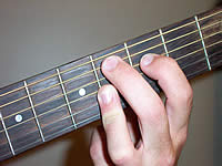 Guitar Chord C#9 Voicing 1