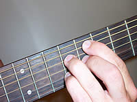 Guitar Chord C#9 Voicing 3