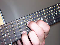 Guitar Chord C#9 Voicing 5