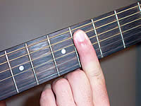 Guitar Chord C#9sus4 Voicing 2