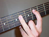 Guitar Chord C# Voicing 2