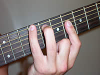 Guitar Chord C# Voicing 3