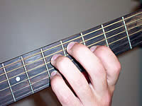 Guitar Chord C#dim7 Voicing 3