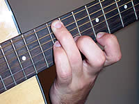 Guitar Chord C#dim7 Voicing 5