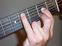 Guitar Chord C#dim Voicing 1