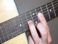 Guitar Chord C#m6 Voicing 5