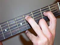 Guitar Chord C m7b5 Voicing 1  C Guitar Chord