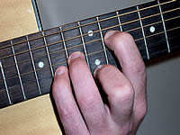 Guitar Chord C#m Voicing 5