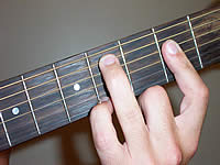 Guitar Chord C#mb6 Voicing 1