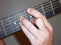 Guitar Chord C#mb6 Voicing 2