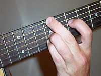 Guitar Chord C#mb6 Voicing 3
