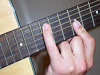 Guitar Chord C#mb6 Voicing 4