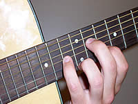 Guitar Chord C#mb6 Voicing 5